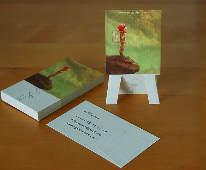 Easel business cards kamicarus card colourmoves